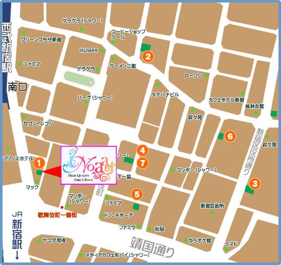 新宿ノアマップ