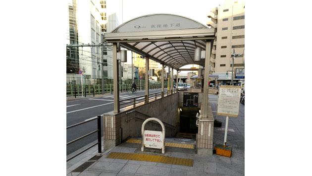 自転車通行可の地下道