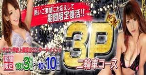 五反田ハーレムビート3P二輪車