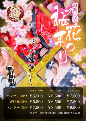 五反田百花繚乱桜花祭り
