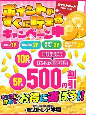 大塚聖カトレア学園500円OFF