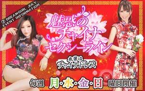 渋谷ドリームガール魅惑のチャイナ セクシーライン