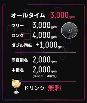 大塚キャンパス学園オールタイム3000円であそべるお店。