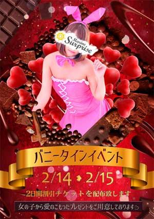 五反田マリンサプライズバレンタインはキュートバニー