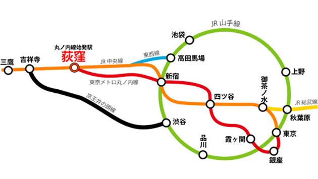 荻窪のおすすめピンサロをご紹介~中央線は優良サロンの宝庫じゃけぇ!!